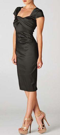 Charlice Dress in Classic Black