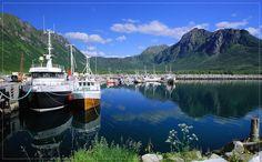 Grunnfarnes Harbour, Norwegen