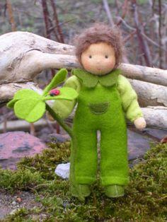 Klee Micha Waldorf doll. So cute!