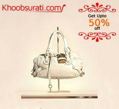 #STYLISH_HANDBAGS @ Khoobsurati.com Get upto 50% off on Handbags @ khoobsurati.com http://khoobsurati.com/bags/hand-bags