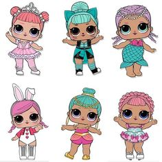 We are IN SEARCH of these 6 LOL SURPRISE dolls! Do any of you fabulous friends have any of these dolls up for trade or sale? Lol Doll Cake, Chocolate Santa, Blue Nose Friends, Doll Party, Little Girl Birthday, Lol Dolls, Happy Friday, Paper Dolls, Appliques