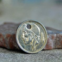 beautiful coin  for a  Pendant...  JEWERLY... Jul by CoolVintage, $4.50
