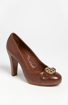 Tory Burch 'Calista' Pump available at #Nordstrom these are so comfortable and cute....