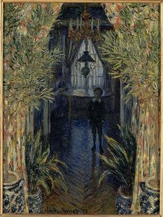 Un coin d'appartement, by Monet