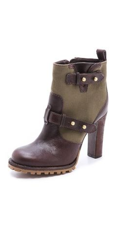 landers high heel booties