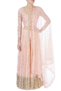 2854ced220d864 Astha Narang Rose pink sequin embellished lehenga Buy Roses