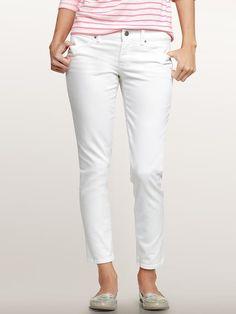 Summer white jeans.. I think I'll indulge myself this summer