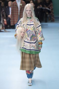 Channelling Instagram qualities- Gucci Fall 2018 ready to wear show is all about the show.