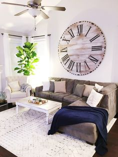 Magnolia Home Village Wall Clock Be Inspired By Joanna Gaines Pinterest Clocks And