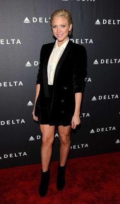 Brittany Snow - Delta Airlines 2013 GRAMMY Week LA Reception-05
