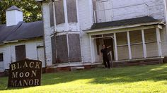 Ghost Adventures: Black Moon Manor Pictures   Zak, Nick and Aaron visit Greenfield, IN, to investigate Black Moon Manor. Approximately 200 people have died in the house since it was turned into an infirmary after a smallpox outbreak in the 1800s. Filed under: Haunted Indiana
