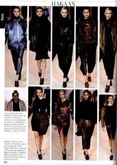Vogue Collections Fall 2012