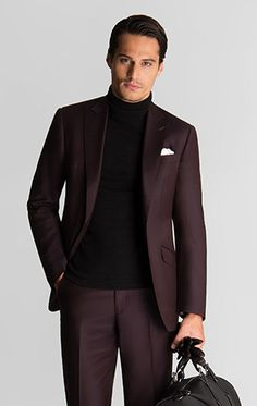Master The Turtleneck With Suit Look Show Me What You