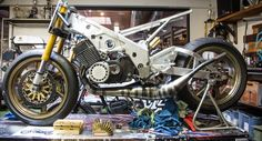 """""""2 Stroke Attack"""" Born Free 7 - Blog - Motorcycle Parts and Riding Gear - Roland Sands Design"""