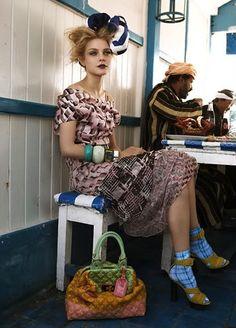 Patrick Demarchelier for British Vogue
