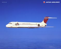 JAL-Japan Airlines McDonnell Douglas MD-87 issued airline