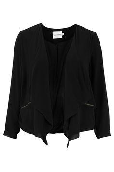 Junarose Blanca-jakku väreissä Musta kategoria Naiset - Pikkutakit & puvut - Ellos