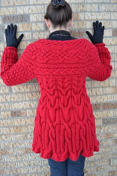 Ravelry: Project Gallery for Minimissimi Sweater Coat pattern by Cristina Ghirlanda