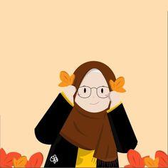 Cute Turtle Cartoon, Cartoon Kids, Girl Cartoon, Love Wallpaper Backgrounds, Hijab Drawing, Funny Doodles, Islamic Cartoon, Anime Muslim, Hijab Cartoon