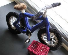 The Voodoo Bicycle. Watch out for those pins, cyclists!