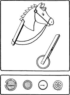 https://www.google.be/search?q=horse on a stick cardboard