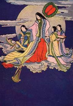 Japanese Fairy Tales: The Bamboo-Cutter's Daughter: The Smoke of Fuji Yama