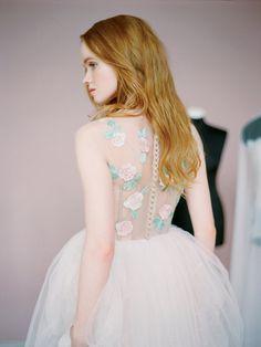 Dolores // Unique wedding dress Wedding gown by Milamirabridal