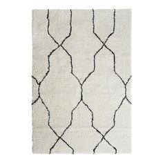Vloerkleed Varamin creme/zwart 160x230 cm | Vloerkleden | Woonaccessoires | Meubelen | KARWEI