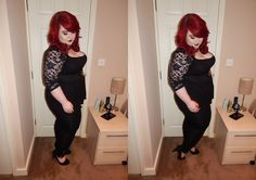 Georgina Grogan in our Zip Detail Leggings! http://www.thecurvefashion.com/ http://www.shemightbeloved.com/ #fbloggers #plussize #fashion #clothing #style