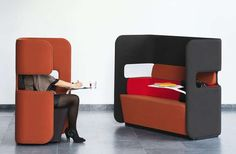 54 Eccentric Sofa Designs - From Ice Cream Sandwich Seating to Recycled Refrigerator Sofas (TOPLIST)