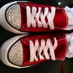a72f8f9f022869 Customised Swarovski cons   swarovski converse   sparkly shoes  coo l shoes    bling
