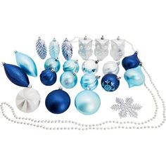 Pack of 52 Shatterproof Decorations at Homebase -- Be inspired and make your house a home. Buy now.