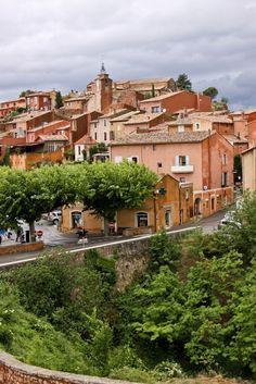 Roussillon, a aldeia de ocres