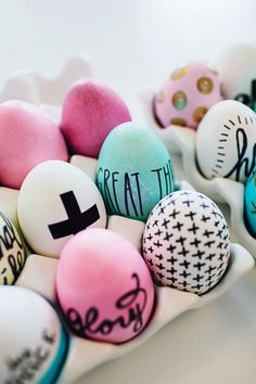 10 cool Easter DIYs, a roundup | Little Big Bell.