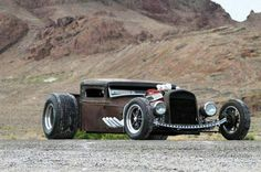 Afternoon Drive: Hot Rods & Rat Rods (24 Photos)