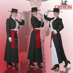 Traditional Chilean Formal outfit Chili, Traditional Gowns, Costumes Around The World, Ethnic Fashion, Womens Fashion, Folk Costume, Halloween Costumes, Historical Costume, Business Fashion