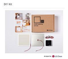 LG Display OLED Lighting DIY Kit