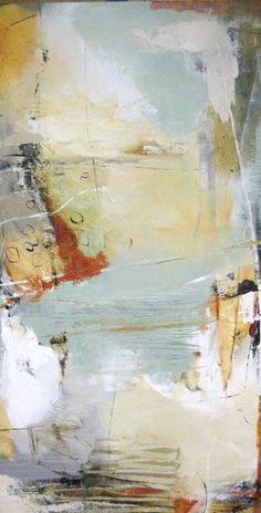 Natasha Barnes: Copper Penny (60x30 oil on canvas from Renjeau Galleries, renjeau.com