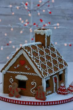 Xocolat and co: Casita de jengibre / Gingerbread house