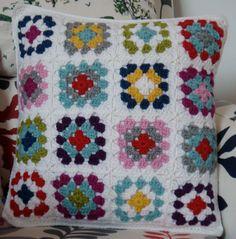 crochet cushion cover (#2)