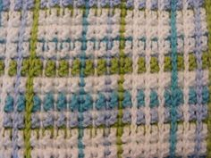 Ravelry: Woven Babyblanket on Mesh Ground by Ateljé Bohemian