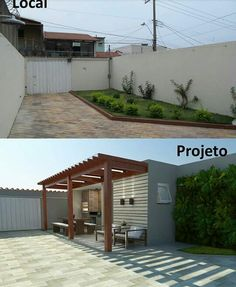 Pergola design plans home 18 Ideas for 2019 House Construction Plan, Village House Design, Bungalow Renovation, Outdoor Living Rooms, Diy Porch, Exterior Remodel, Backyard Pergola, Pergola Designs, Home Deco