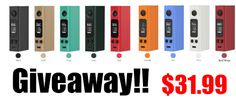 Joyetech EVic VTwo Mini TC Box Mod Giveaway