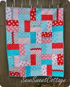 Sew Sweet Cottage--Lennon Jane Quilt