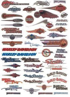 Die 286 Besten Bilder Von Schriftzüge Logos Harley Davidson