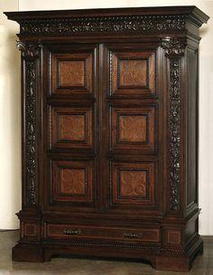 Antique Italian Renaissance Armoire #antique #furniture #armoire www.inessa.com