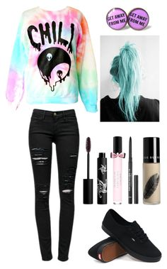 """""""*sigh*"""" by audreehistired ❤ liked on Polyvore featuring Frame Denim, Vans, Rouge Bunny Rouge, Urban Decay and Victoria's Secret"""