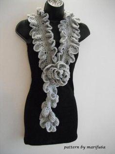 36 Besten Häkeltücher Bilder Auf Pinterest Crochet Scarves Scarf