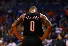 "Lillard chose the number 0 to represent his hometown ""Oakland"" // NBA"