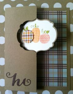 Stampin Up 7 8 Scallop Punch Cards